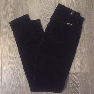 7 for All Mankind Black Cords